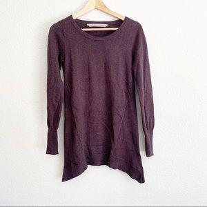 Athleta Long Sleeve Wine Sweater